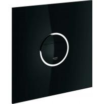Huuhtelupainike Grohe Veris Light musta, LED-valoilla