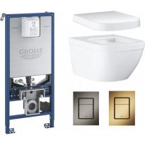 Seinä-WC-istuinpaketti Grohe Euro Ceramic