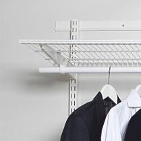 Vaakakisko Norscan Roller Wall System, 2000mm, valkoinen