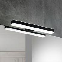 LED-valaisin Focco by Grip Veronica Black, 8W, 300mm, Verkkokaupan poistotuote