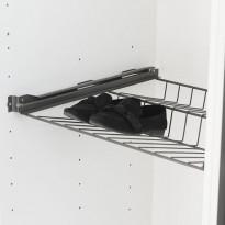 Ulosvedettävä kenkähylly Norscan Roller, M50, antrasiitti
