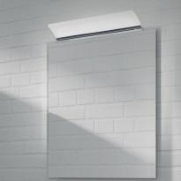 Kehyspeili Grip, Swan, kromi, 700x900mm, LED-valaisimella