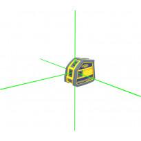 Viisipistelaser Spectra Precision LP51G, vihreillä tehosäteillä