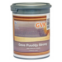 Puuöljy Geve Strong, 0,9L, harmaa