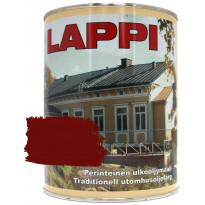 Ulkoöljymaali GVK Lappi, puolihimmeä, 0,9L, italianpunainen