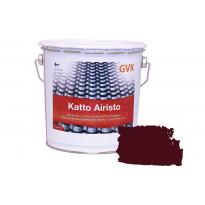 Ulkokattomaali GVK Katto Airisto, 2,7L, punainen