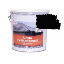 Peltikattomaali GVK, 2,7L, musta