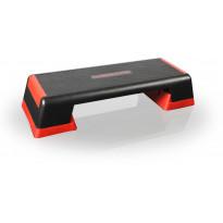 Steppilauta Gymstick Pro Step, punainen/musta