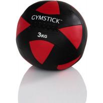 Kuntopallo Gymstick Wall Ball, 3kg
