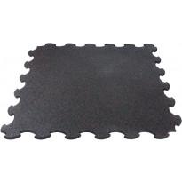 Palamatto Gymstick Interlocking Mat Pro Rubber, 102.7 x 102.7 x 1.5cm, musta/punainen