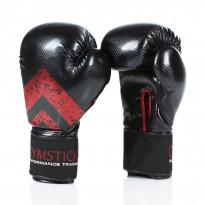Nyrkkeilyhanskat Gymstick, 14oz, tarrakiinnitys, musta/punainen