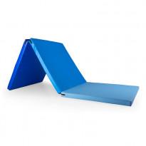 Treenimatto Gymstick, 180x60x4cm, taitettava, sininen