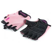 Treenihanskat Gymstick Training Gloves, M, pinkki/musta