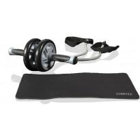 Harjoittelurulla vastuskuminauhoilla Gymstick Ultimate Exercise Roller
