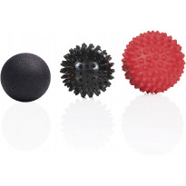 Hierontapallo Gymstick Massage Ball Set, 3 kpl