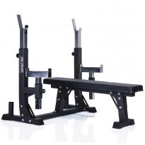 Penkkipunnerrusteline Gymstick Alpha Weight Bench, max.300kg