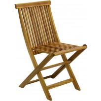 Tuoli Home4you Finlay, taitettava, akaasia, ruskea