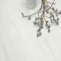 Vinyylilankku Habitas Flooring White Brady, jäykkäydin, askeläänieriste