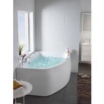 Kylpyamme Aqua 160L Duo, 383L, 1550x1166mm, vasenkätinen