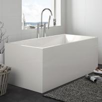 Kylpyamme Hafa Sun Square 1600, valkoinen