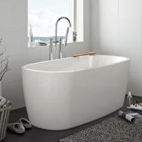 Kylpyamme Sun Round 1600, valkoinen