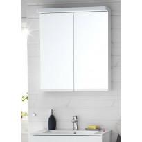 Peilikaappi Hafa Sun 600, LED-valaistuksella, valkoinen matta