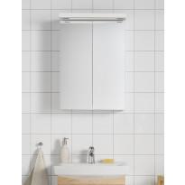 Peilikaappi Hafa Life 500, LED-valaistuksella ja pistorasialla, valkoinen