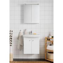 Kylpyhuoneryhmä Hafa Life 600 peilikaapilla, valkoinen ovi