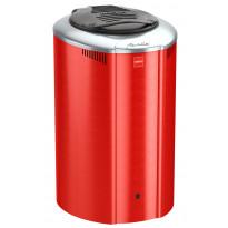 Sähkökiuas Harvia Aina Valmis Forte AFB6, 6kW, 7-12m³, erillinen ohjaus, punainen