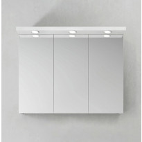Peilikaappi Hafa Store 1000 LED-spoteilla, eri värivaihtoehtoja