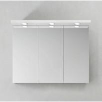 Peilikaappi Hafa Store 900 LED-spoteilla, eri värivaihtoehtoja
