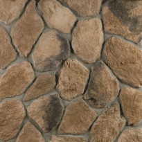 Verhoilukivi Mathios Stone Fieldstone Brown