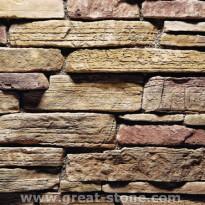 Verhoilukivi Great-Stone GS-015, ulkokulmaelementti, 2.40 m