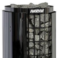 Kiukaan suojaseinä Harvia Cilindro Black Steel