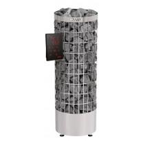 Sähkökiuas Harvia Cilindro PC90XW Steel, 9kW, 8-14m³, erillinen ohjaus