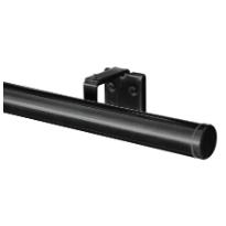Verhotanko/-kisko Daytona, 28mm, kiiltävä musta, 200cm