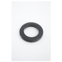 Purjerengas, musta, 28mm, 10kpl/pss
