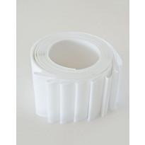 Lamelliverho 600x2500mm valkoinen leveys 89mm x 8 kpl/pak