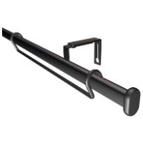 Paneelitankosetti, musta, 90-160cm