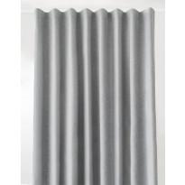 Pimentävä sivuverho Hasta Hotel Curtain BO, harmaa, 270x280cm