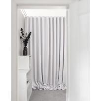 Sivuverho Hasta Dokie, puhtaanvalkoinen, 134x250cm