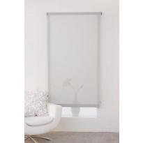 Rullaverho Hasta Screen, vaaleanharmaa, 90x250 cm