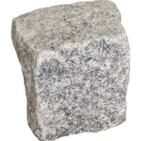 Noppakivi 100x100x100mm, 3m², graniitti, lohkottu, harmaa