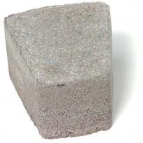 Perinnekivi 60mm, kaarre, suuri/pieni mix, harmaa