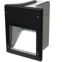 Vallivalaisin Luomi, 160x198x190mm, LED 1,5W, musta