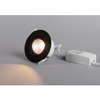 LED-alasvalo Hide-a-lite Optic Quick ISO, Tune, musta
