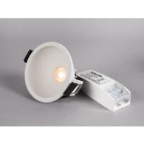 LED-alasvalo Hide-a-lite Globe G2 Recessed, 3000K, valkoinen