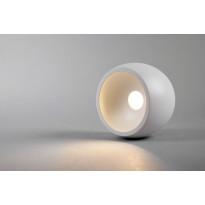 LED-kattovalaisin Hide-a-lite Globe G2 Surface, 3000K, valkoinen