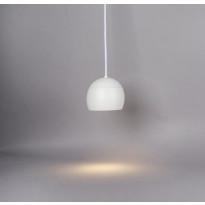 LED-riippuvalaisin Hide-a-lite Globe G2 Pendant, Tune, valkoinen