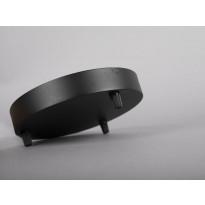 Kattokuppi Hide-a-lite III Globe G2 ja Focus Pendant Micro, musta